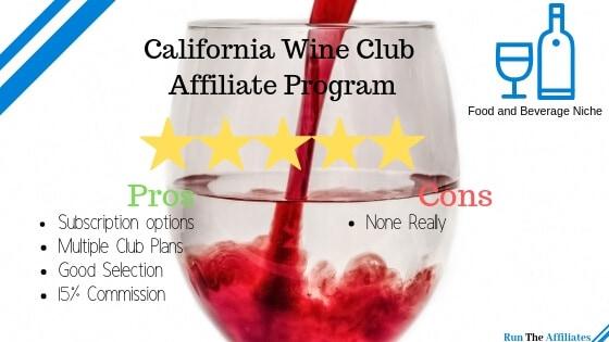Ca wine club Wine Affiliate Programs
