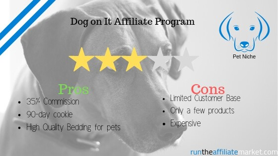 Dog on it review template