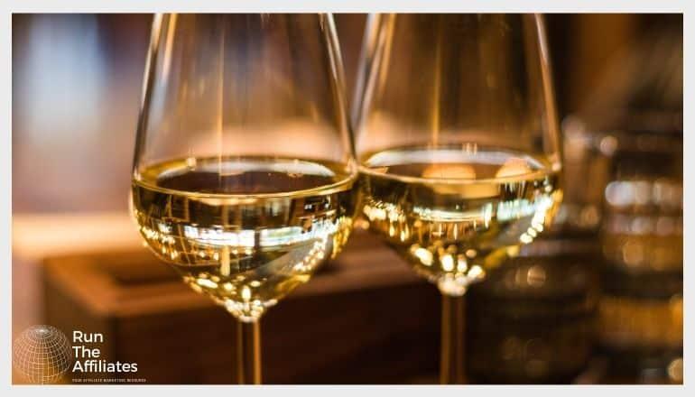 2 glasses of white wine