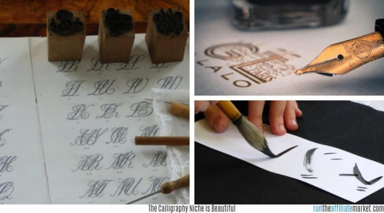 Calligraphy montage