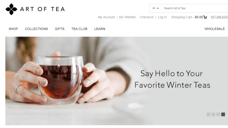 The Art of Tea Screenshot