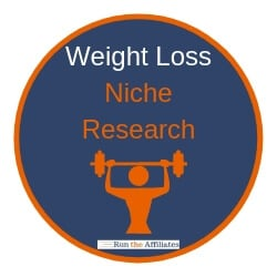 weight loss niche research