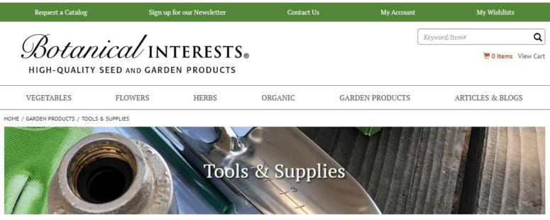 botanical interest screenshot