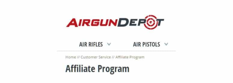 airgun depot title image