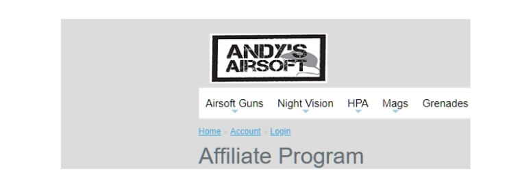 andys airsoft title card
