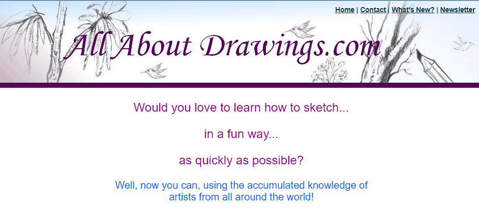 all about drawings screenshot