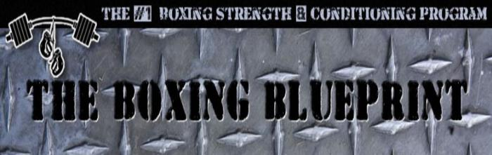 boxing blue title card