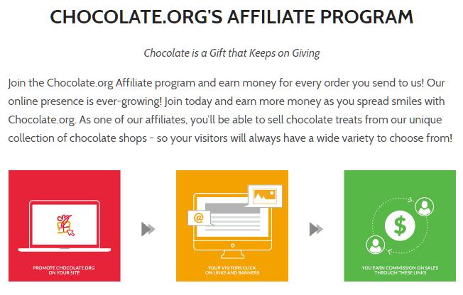chocolate.org affiliate program