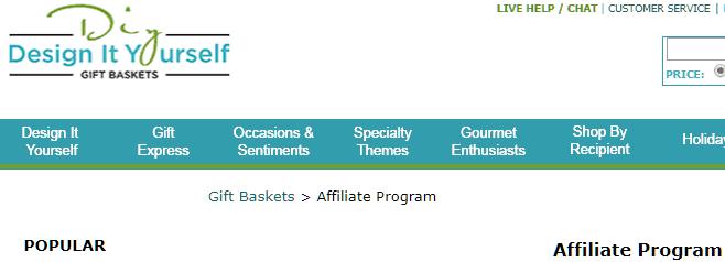 diy gift basket affiliate program