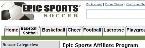 epic sports affiliate program