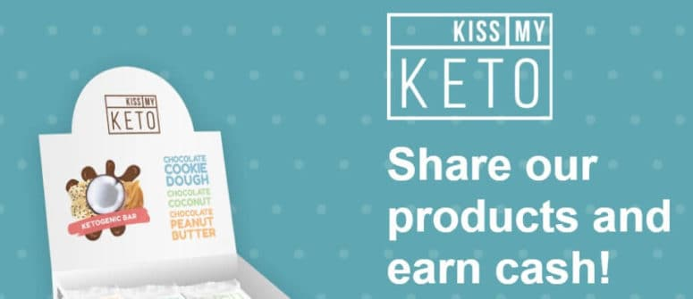 kiss my keto title card affiliate program