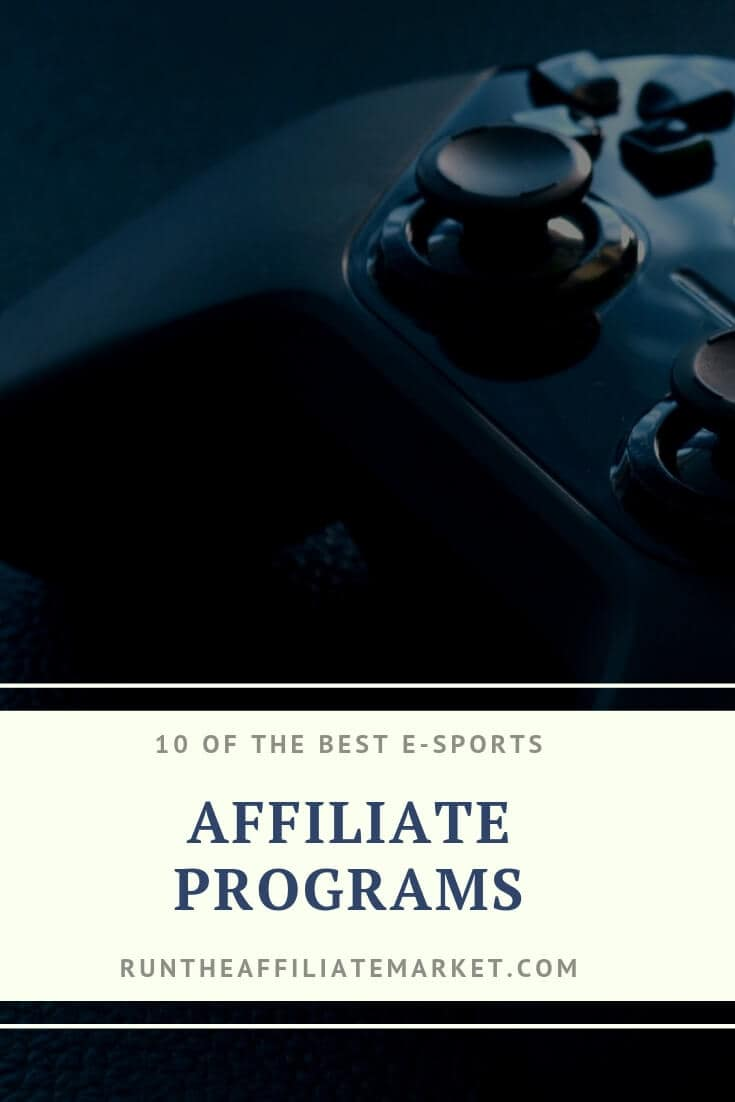 10 esport affiliate programs pinterest image