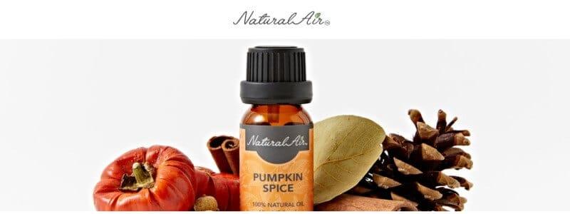 natural air oils title card