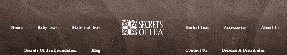 secrets of tea title card