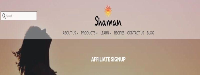 shaman oils title card