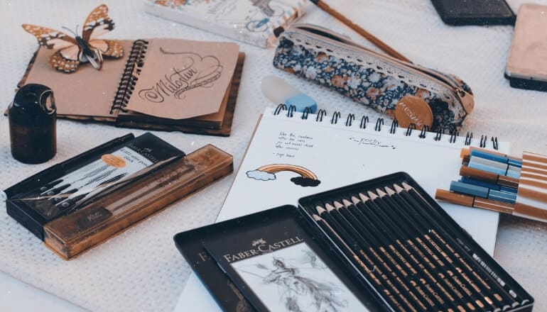 caligraphy set