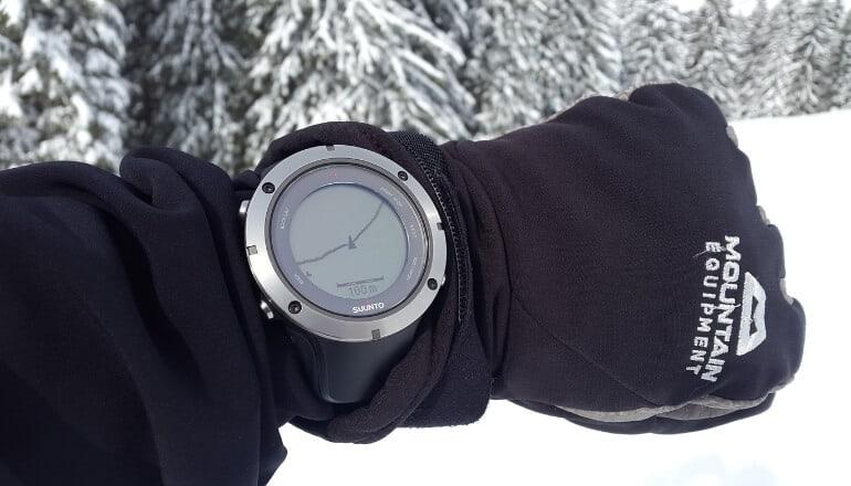 hiking watch with gps