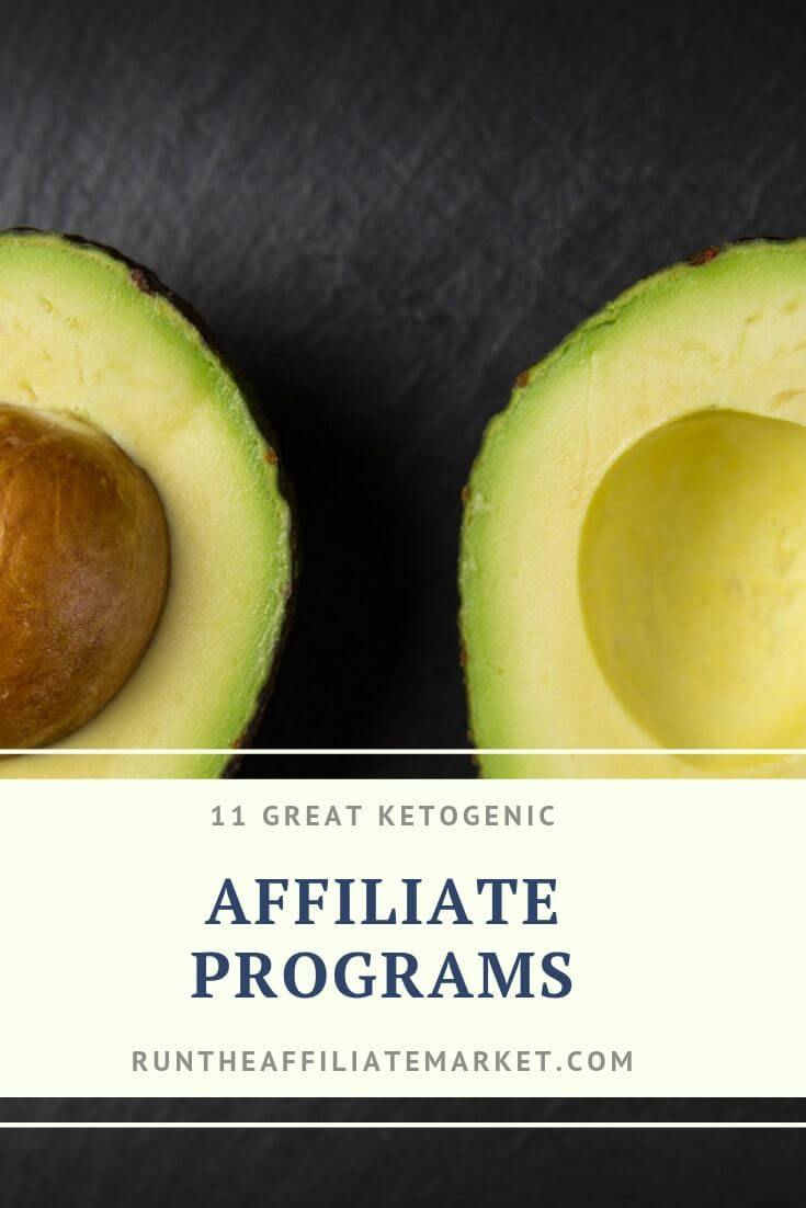 keto affiliate programs pinterest image