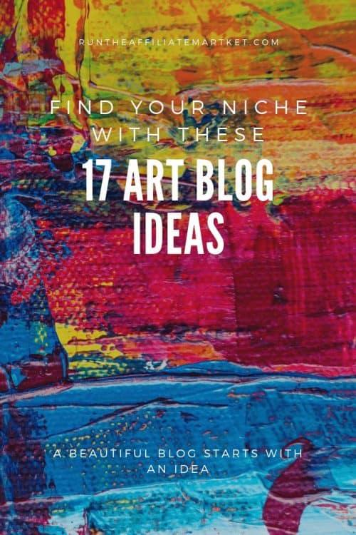 art blog ideas pinterest image