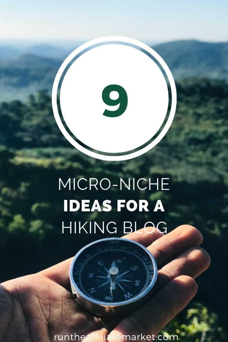 hiking blog ideas pinterest image
