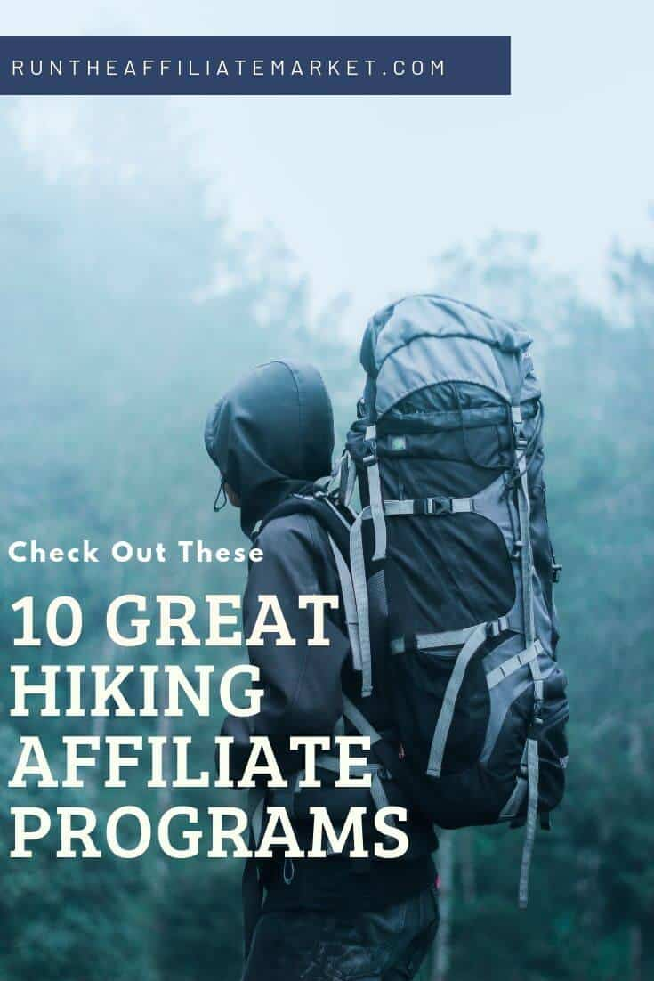 hiking affiliate programs pinterest image