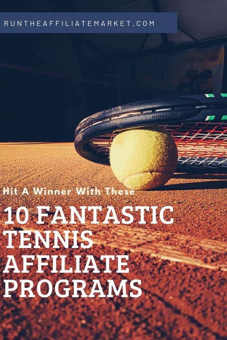 tennis affiliate programs pinterest image