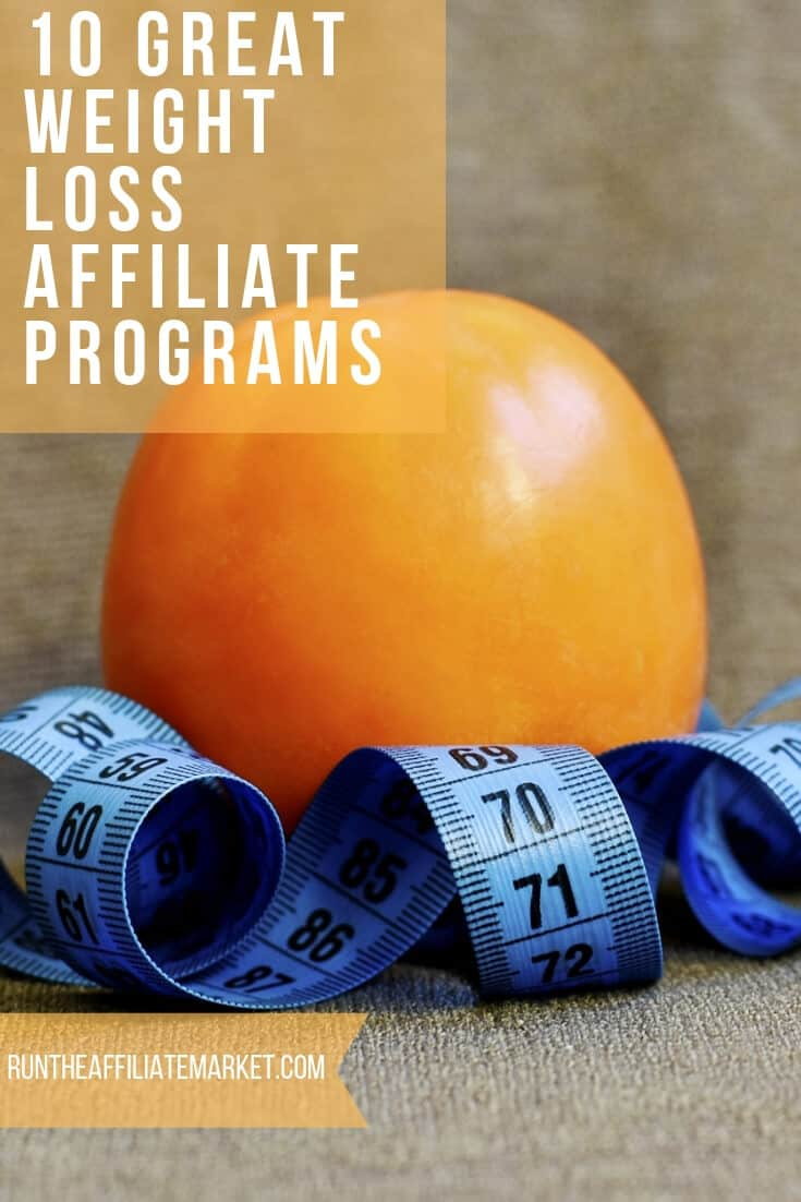 weight loss affiliate programs pinterest image