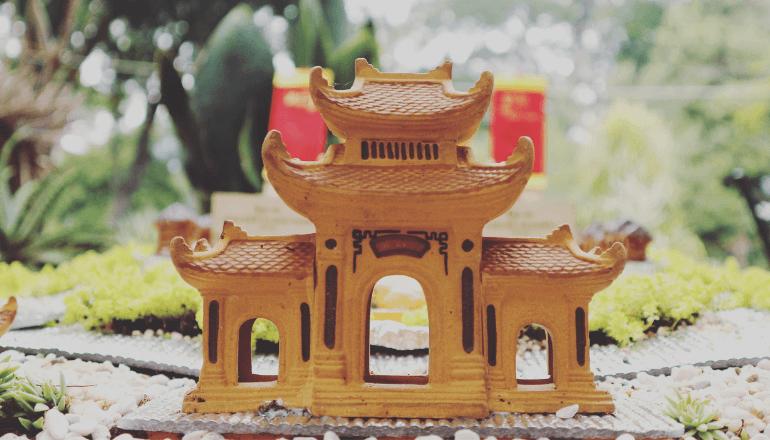 tiny pagoda