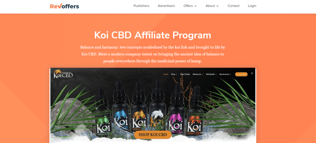 CBD Koi Screenshot