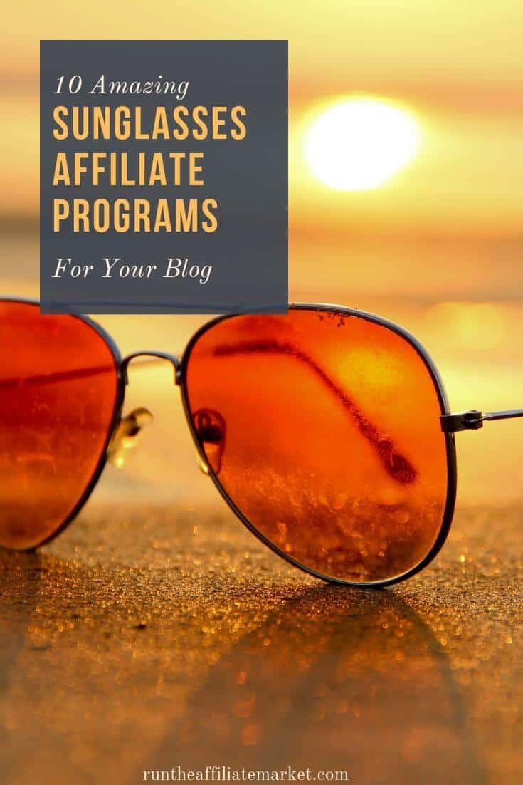 sunglasses affiliate programs pinterest image