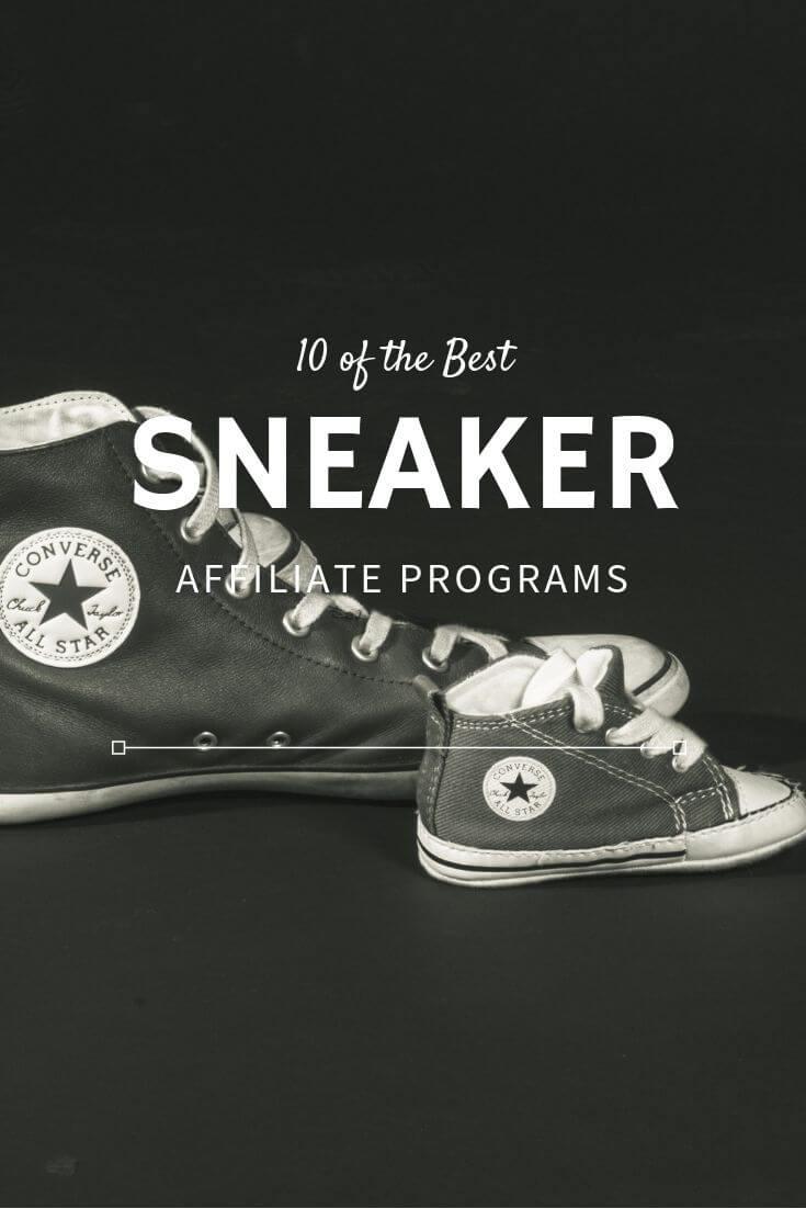 sneaker affiliate programs pinterest image
