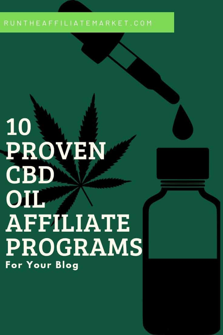 CBD Oil Affiliate Programs Pinterest Image