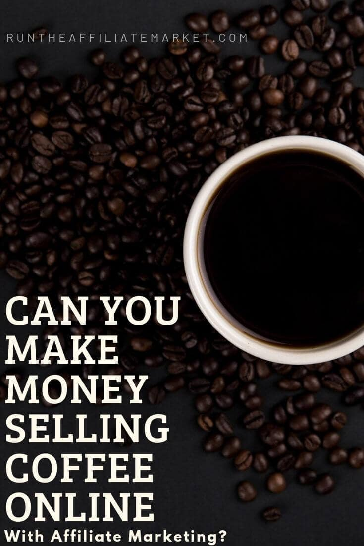make money with coffee online pinterest image