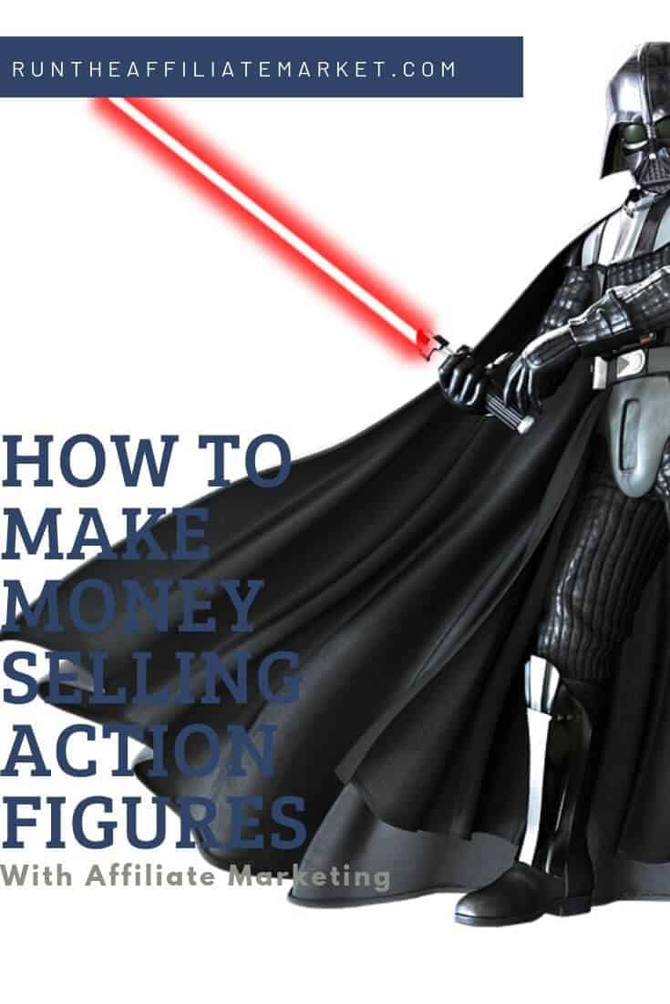 how to make money selling action figures  pinterest image