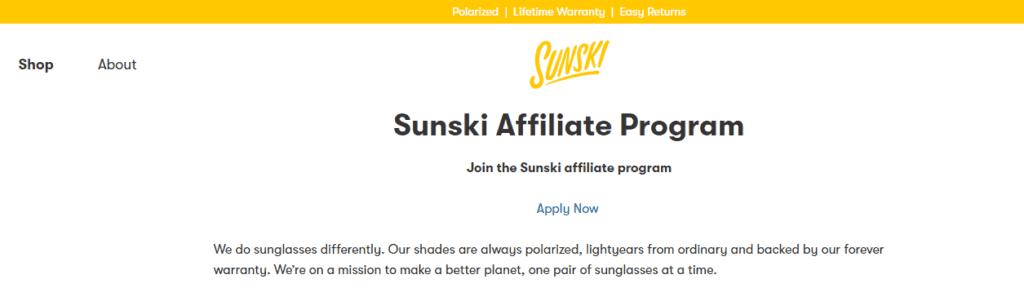 sunski screenshot