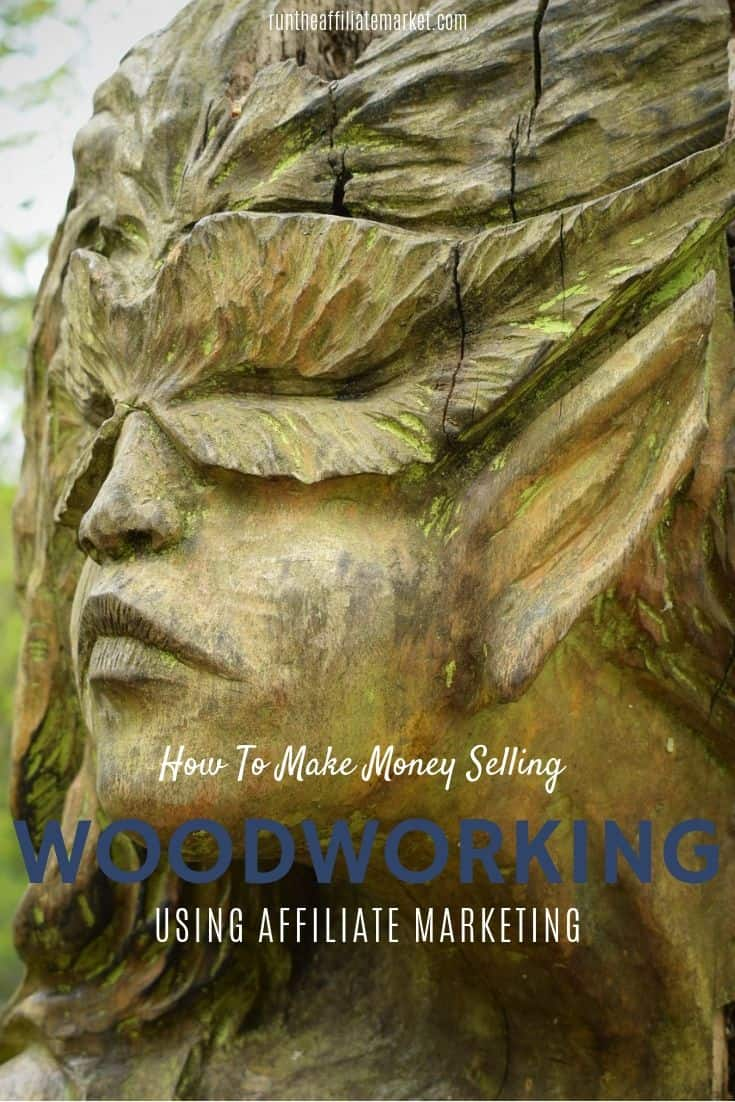 how to make money with woodworking Pinterest Image