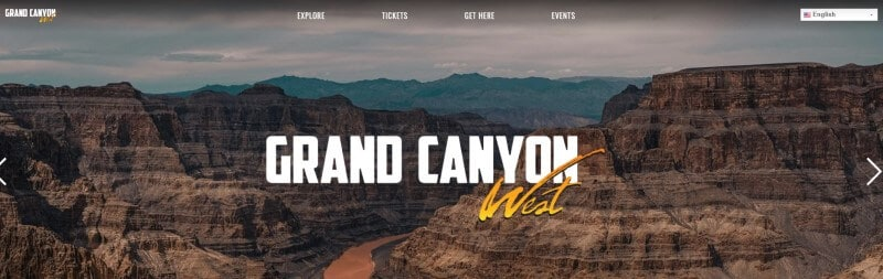 grand canyon west screenshot