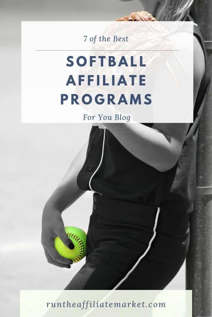 softball affiliate programs pinterest image
