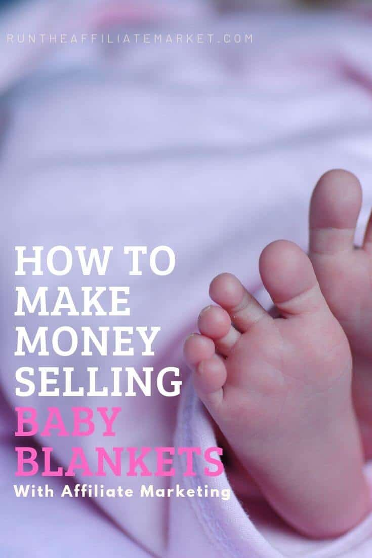 how to make money selling baby quilts pinterest image