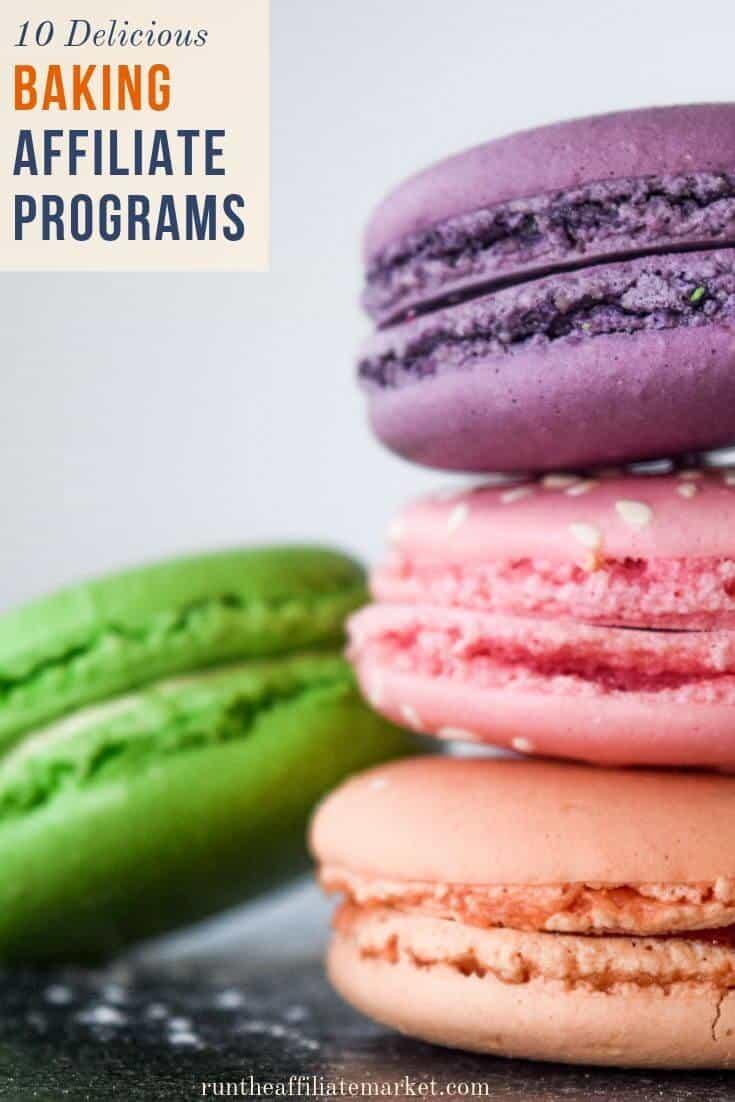 baking affiliate programs pinterest image