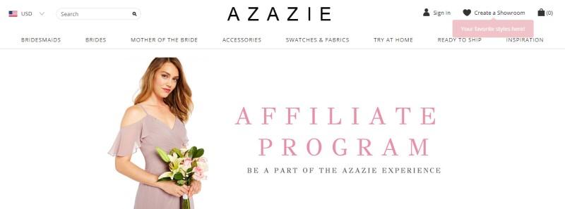 Azazie screenshot