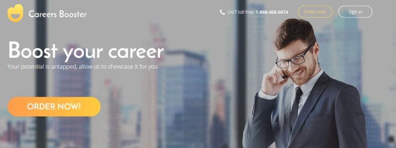 careers booster screenshot