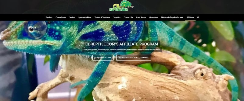 CB Reptiles screenshot