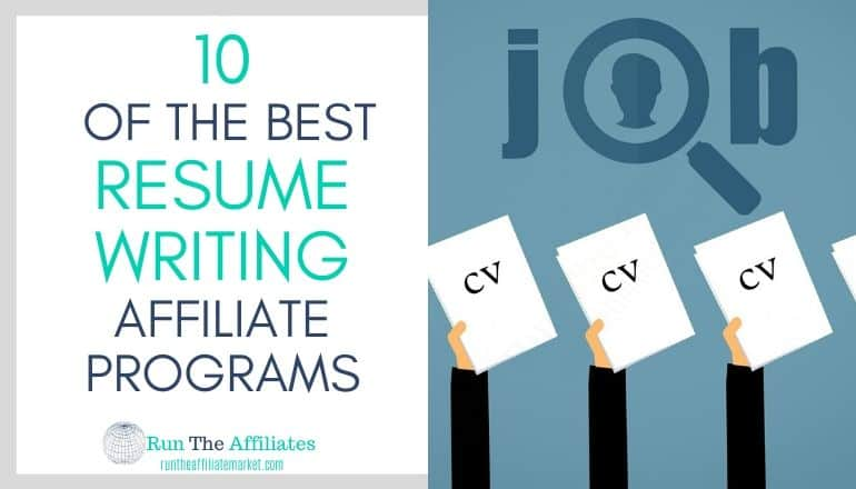 resume writing affiliate programs featured image