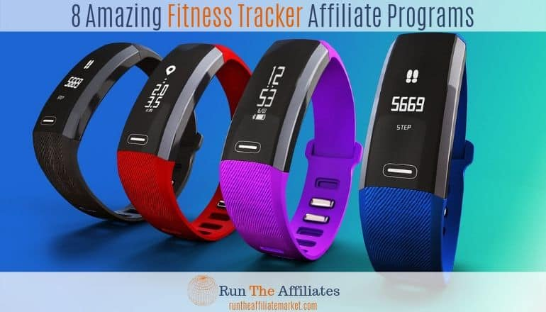 multi-colored fitness trackers