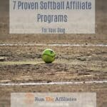 7 Proven Softball Affiliate Programs