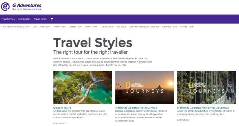 g adventure screenshot