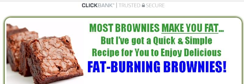 guilt free baking screenshot