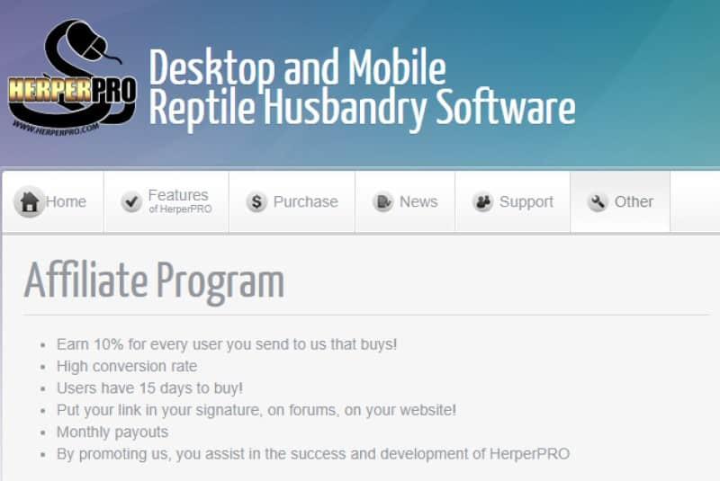 herper pro screenshot