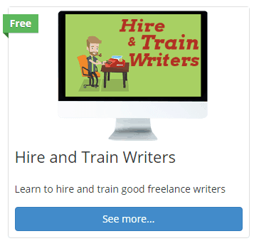 hire writers lesson
